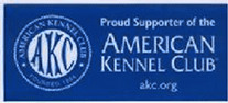 Proud Supporter of the American Kennel Club